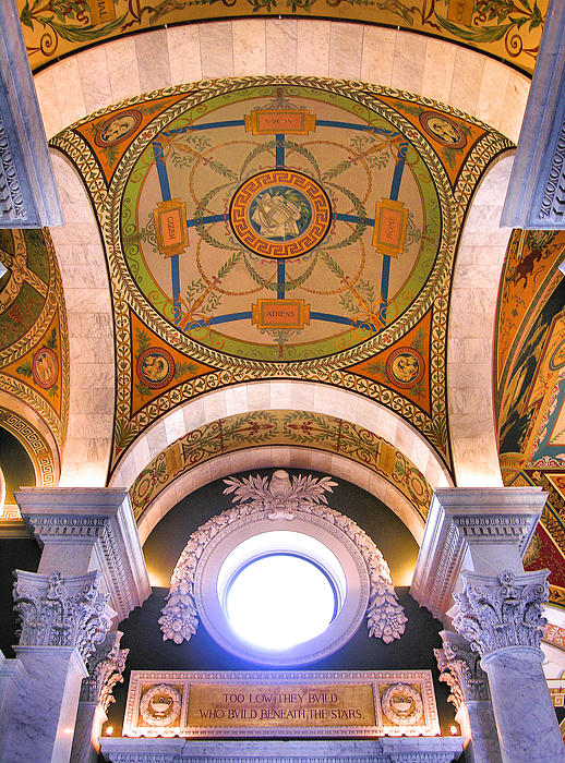 Library Of Congress I Print by Steven Ainsworth