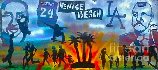 Life's A Beach Print by Tony B Conscious
