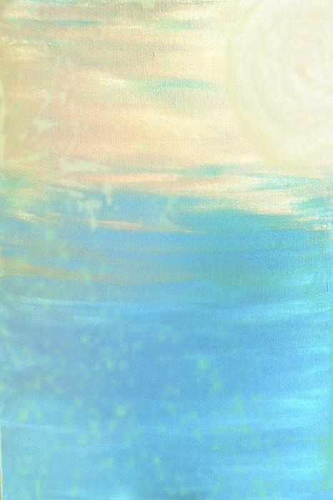 E Sanz - Light Blue Ocean Sand