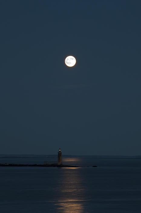 Light Of The Moon Print by Sara Hudock