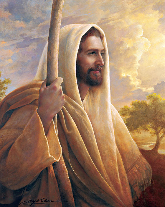 Light Of The World Print by Greg Olsen