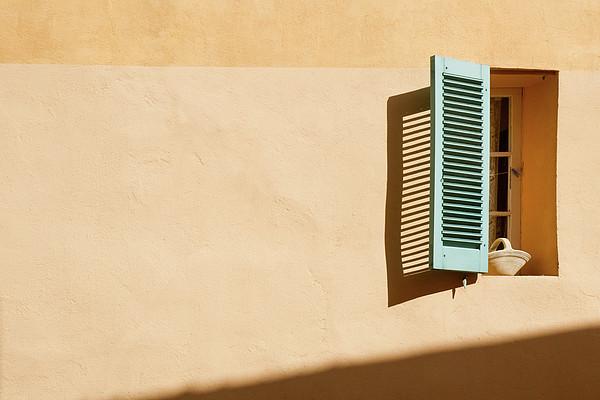 Light On Window Print by Www.saint-tropez-photo.com