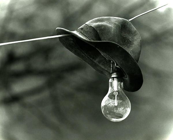 Lightbulb Print by Emanuel Tanjala