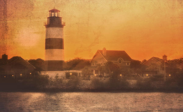 Kathy Jennings - Lighthouse At Dusk
