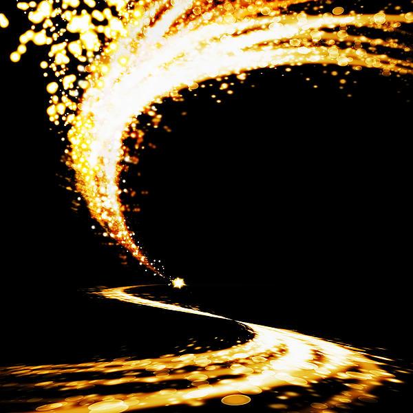 Lighting Explosion Print by Setsiri Silapasuwanchai