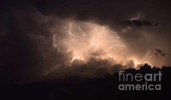 Lightning Print by Bob Christopher