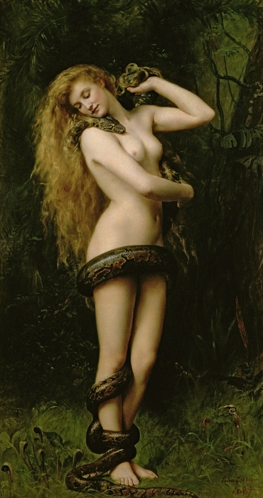 Lilith Print by John Collier