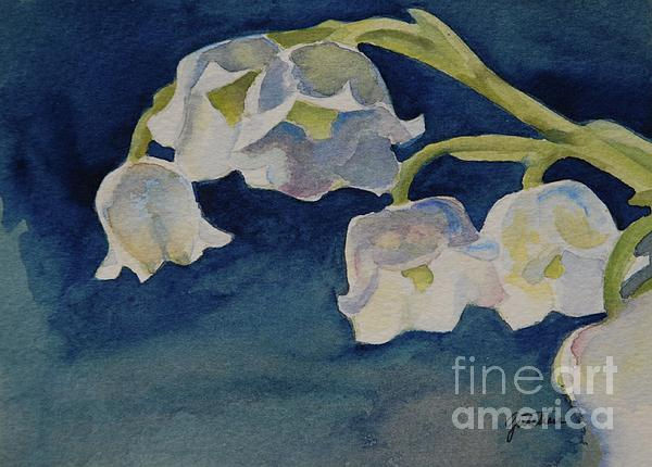 Lilly Of The Valley Print by Gretchen Bjornson