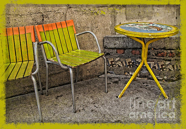 Joan  Minchak - Lime Chairs