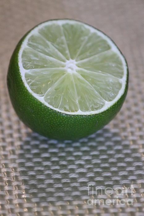 Lime Light Print by Terri Thompson