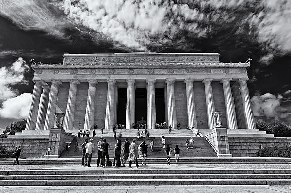 Lori Coleman - Lincoln Memorial in Black and White