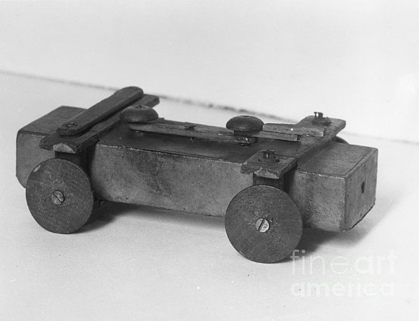 Lincoln Toy Wagon Print by Granger