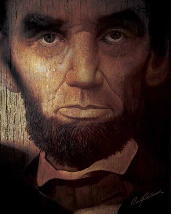 Lincoln's Tear Print by Cindy Anderson