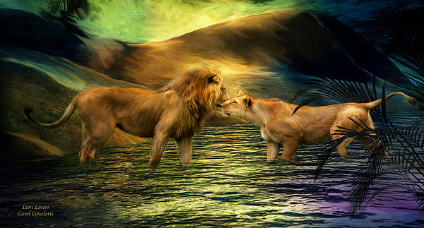 Carol Cavalaris - Lion Lovers