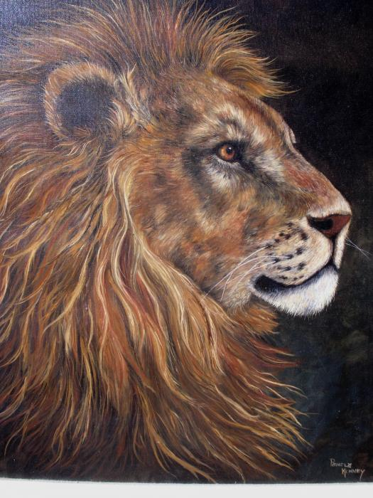 Pamela  Squires - Lions Portrait