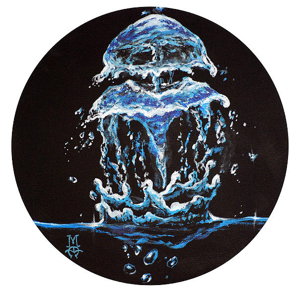 Liquid Jelly Print by Marco Antonio Aguilar