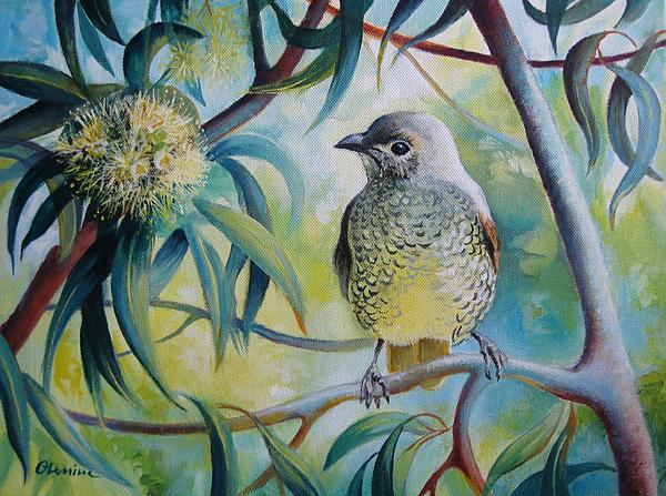 Little bird Painting  - Little bird Fine Art Print