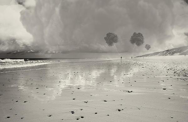 Little Fluffy Clouds Print by Dapixara Art