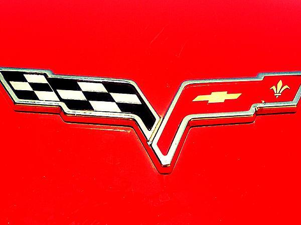 Little Red Corvette Print by Kevin D Davis
