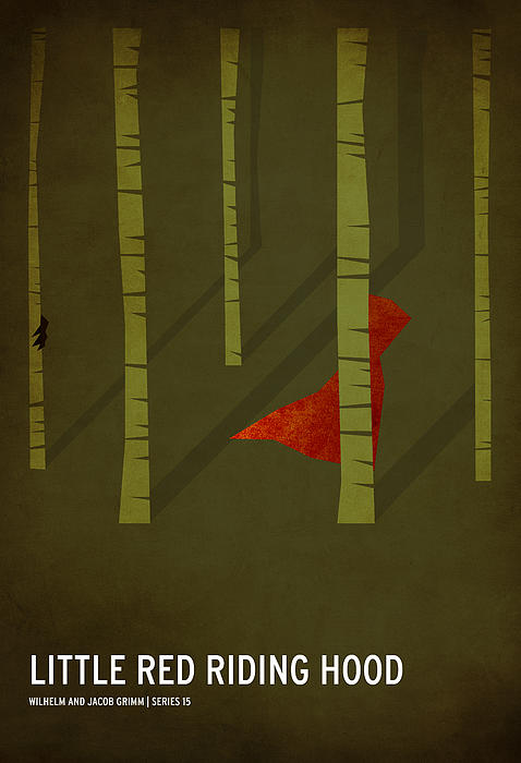 Little Red Riding Hood Print by Christian Jackson