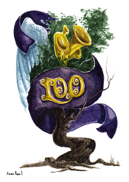 Little Tree 100 Print by Sean Seal
