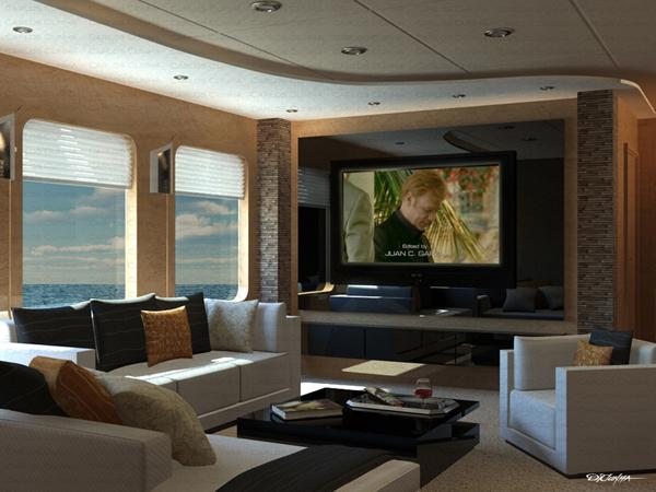 Living Room And Tv By Carlos Cunha: tv room