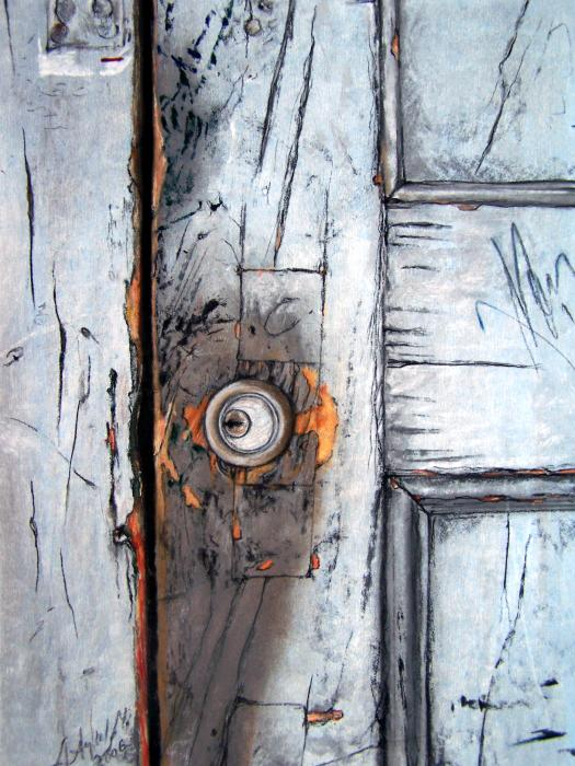 Locked Print by Leyla Munteanu