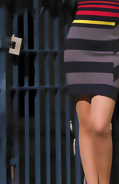 Locking Away Print by Svetlana Sewell