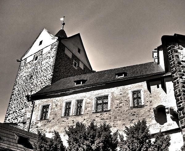 Loket Castle Tower - Czech Republic Print by Juergen Weiss