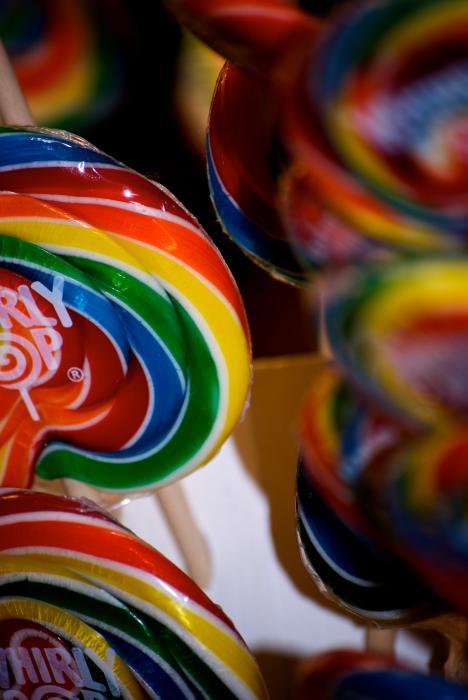 Lollipops Print by Lisa Knechtel