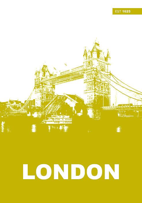 London Bridge Poster Print by Naxart Studio
