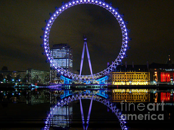 Al Bourassa - London Eye At Night