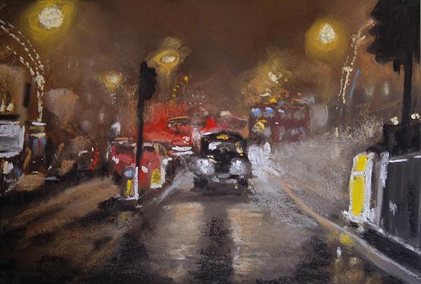 London Fog 1 Print by Paul Mitchell