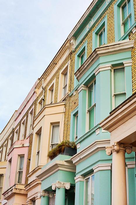 London Houses Print by Tom Gowanlock
