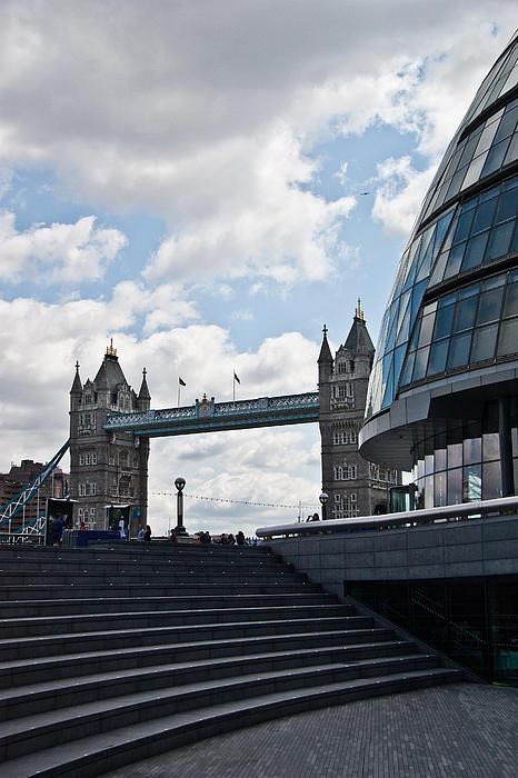 London Tower Bridge Print by Dawn OConnor