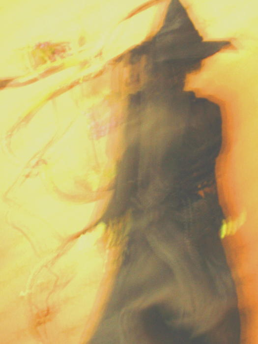Long Cool Woman In A Black Dress Print by Susie DeZarn