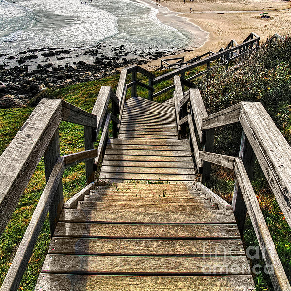 Kaye Menner - Long Stairway to Beach