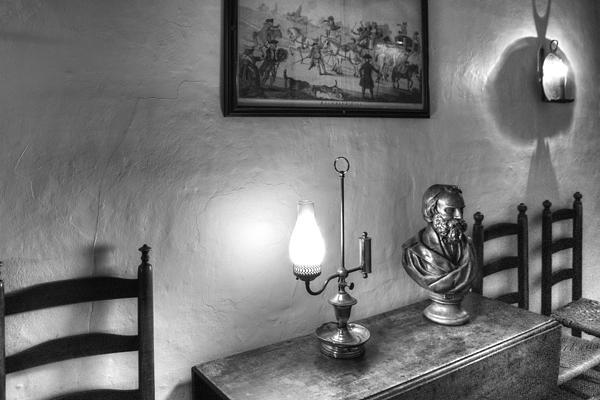 Longfellows Wayside Inn Print by Lee Fortier