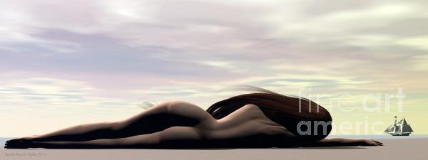 Sandra Bauser Digital Art - Longing