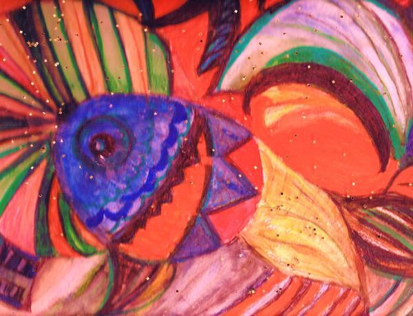 Looking For A Rainbow Print by Anne-Elizabeth Whiteway