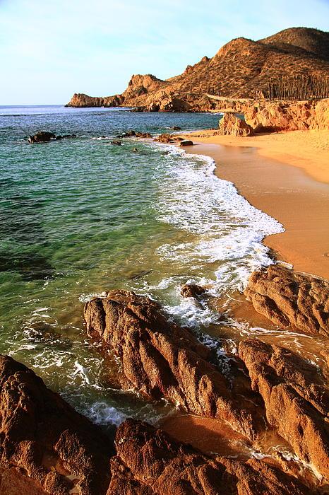Los Cabos Coastal Landscape Print by Roupen  Baker