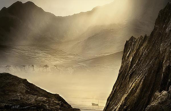 Lost Boat Print by Svetlana Sewell
