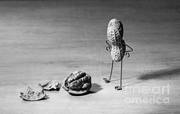 Lost Brains 02 Print by Nailia Schwarz
