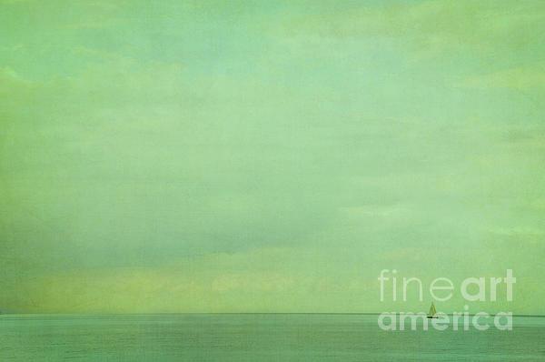 Lost In Green Print by Iris Lehnhardt