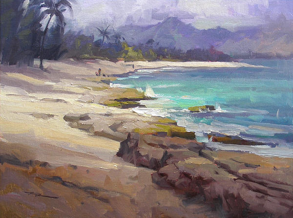 Lost In Paradise Print by Richard Robinson