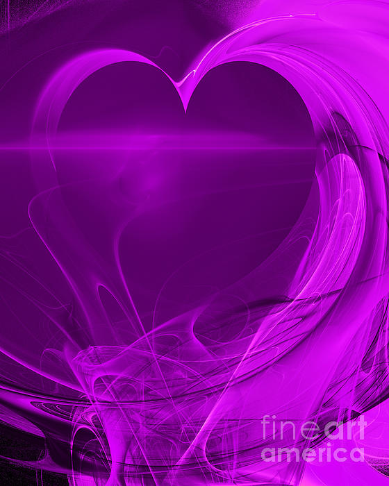 Love . A120423.279 Print by Wingsdomain Art and Photography