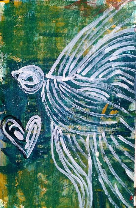 Love Bird Print by Ana Julia Fishman