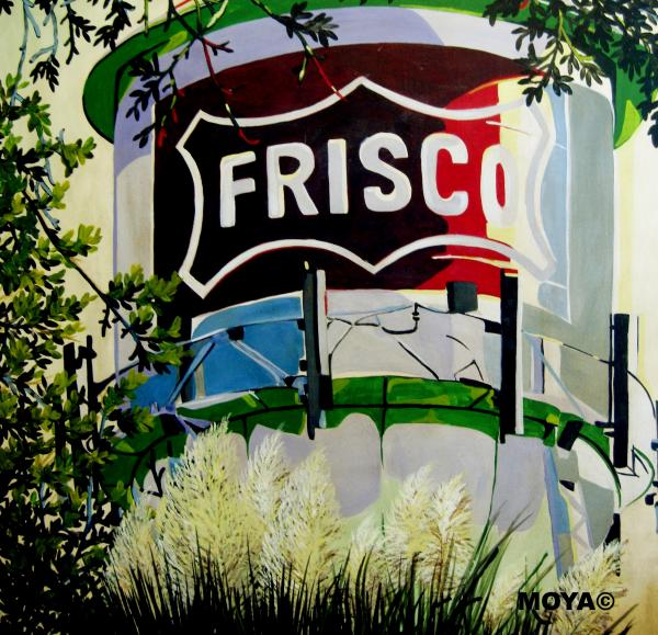 Love Frisco Painting  - Love Frisco Fine Art Print