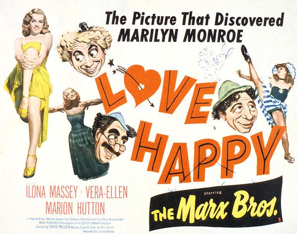 Love Happy, Marilyn Monroe, Marion Print by Everett