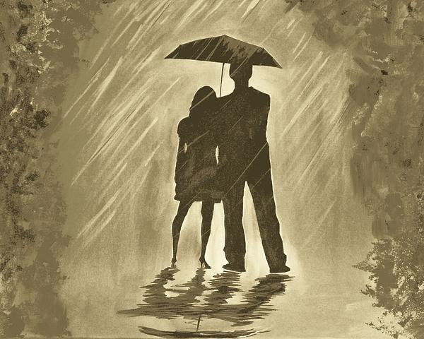 Love In The Rain C by Leslie Allen
